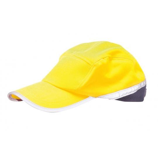 CAPPELLINO PORTWEST HB10 ALTA VISIBILITA' CON VISIERA  - Portwest - Cappelli e bandane