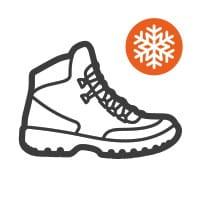 Scarpe invernali alte
